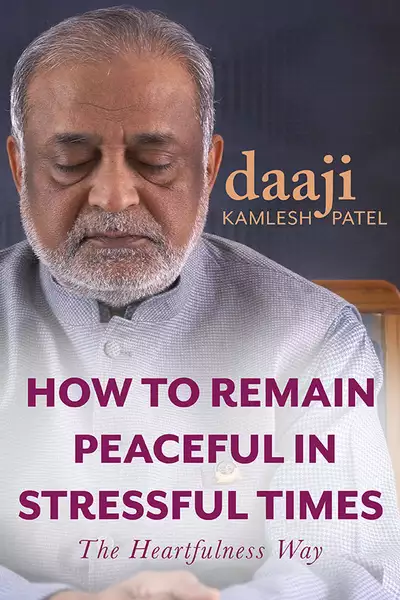 how to remain peaceful in stress times